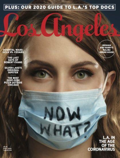 Εξώφυλλα ξένων περιοδικών για την πανδημία και την κοινωνική αποστασιοποίηση λόγω κορωνοϊού