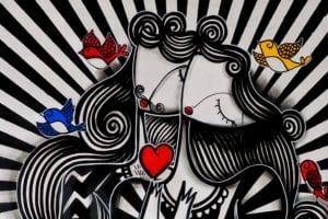 Έργο του street artist Sonke