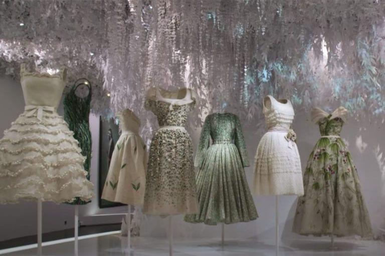 Εικονική περιήγηση στην έκθεση Dior