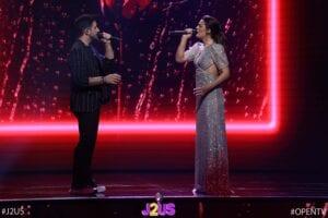 Η Χριστίνα Βραχάλη και ο Γιώργος Λιβάνης στο 2ο live