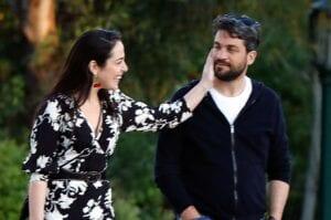 Η Δόμνα Μιχαηλίδου και ο Παναγιώτης Σημανδηράκης βόλτα στο Ζάππειο