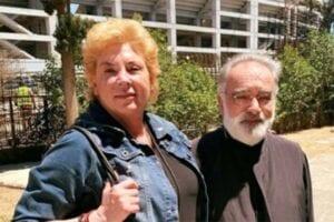 Η Δήμητρα Λιάνη με τον Αρχιμανδρίτη Τιμόθεο Ηλιάκη