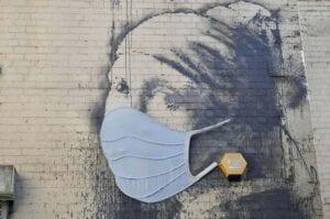 κορωνοϊός γκράφιτι