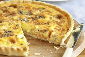 cheese onion pie