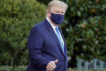 Ο Ντόναλντ Τραμπ νοσηλεύεται με κορωνοϊό